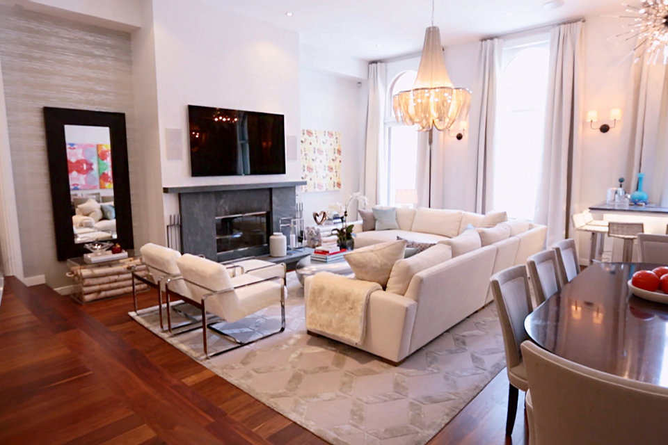 Bravo Bethenny An Inside Look At The Skinny Girl S Nyc Apartment Dream Design Dwell